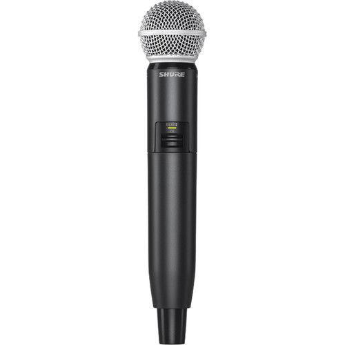 מיקרופון אלחוטי sm58 דגם: Shure GLXD24R/SM58