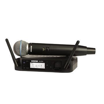 מיקרופון אלחוטי BETA 58דגם: Shure GLXD24/BETA58