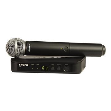 מיקרופון אלחוטי sm58 דגם: Shure BLX24E/SM58