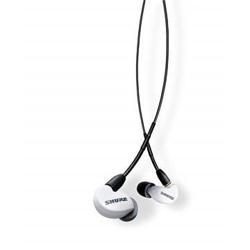 אוזניות Shure Se215-W-UNI צבע לבן