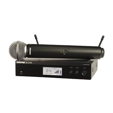 מיקרופון אלחוטי sm58 דגם: Shure BLX24R/SM58