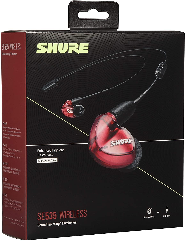 Shure Se535 LTD+BT2 EFS Red