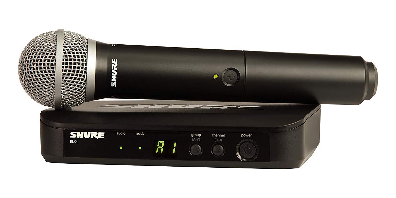 מיקרופון אלחוטי דגם: Shure BLX24E/PG58