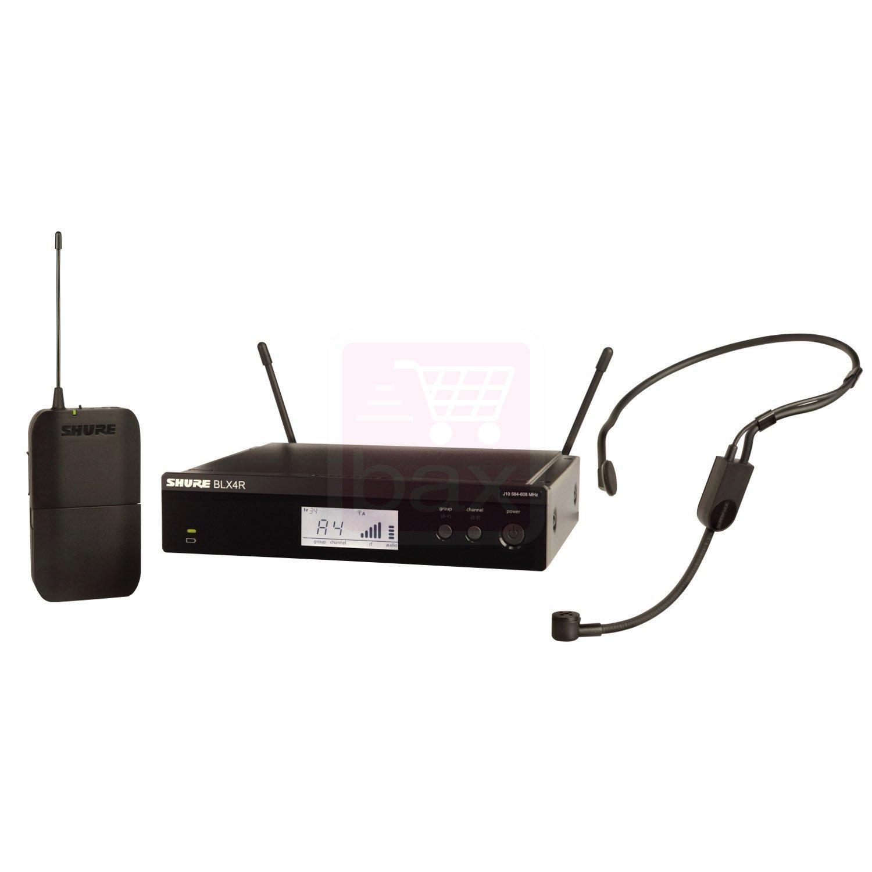 מערכת ראש אלחוטית מיקרופון מדונה דגם: Shure BLX14R/P31