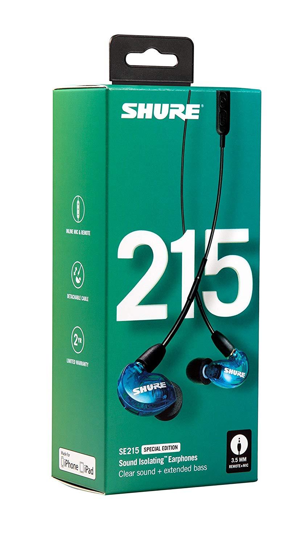 Shure Se215 Special Edition UNI Blue