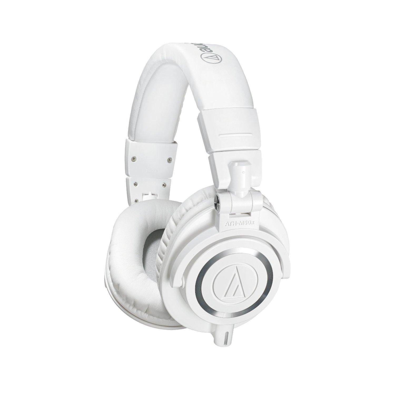 Audio Technica ATH-M50x White Limited Edition