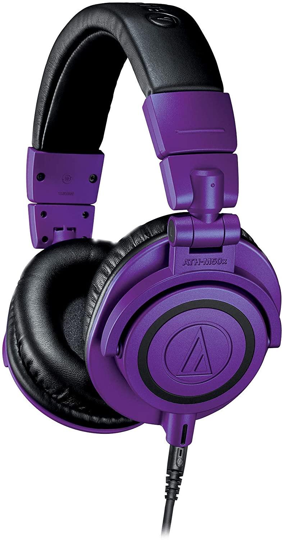 Audio Technica ATH-M50x PB - Limited Edition סגולות